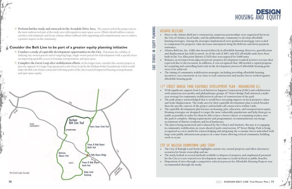 Master Plan Draft Durham Beltline For Everybody