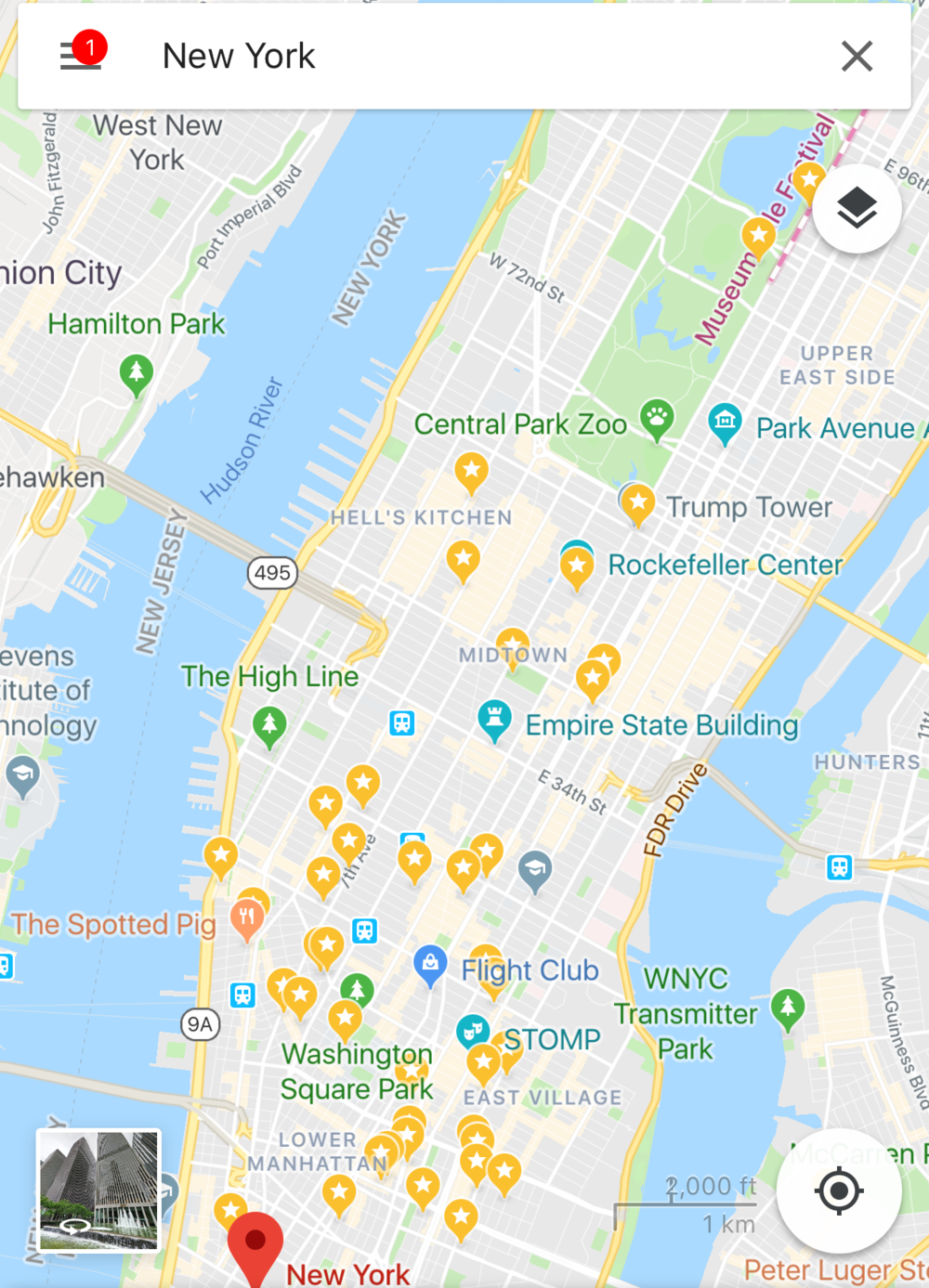 Google Maps is your BFF - This is my essential app- I'm able to save all potential locations and then plan my days around certain geographical areas.