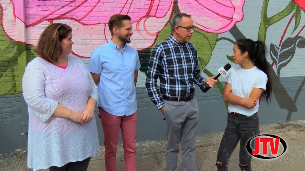"Bart Interviews ""Ouizi"" for Bright Walls Mural Festival Preview - JTV Studios • Sept. 13, 2018"