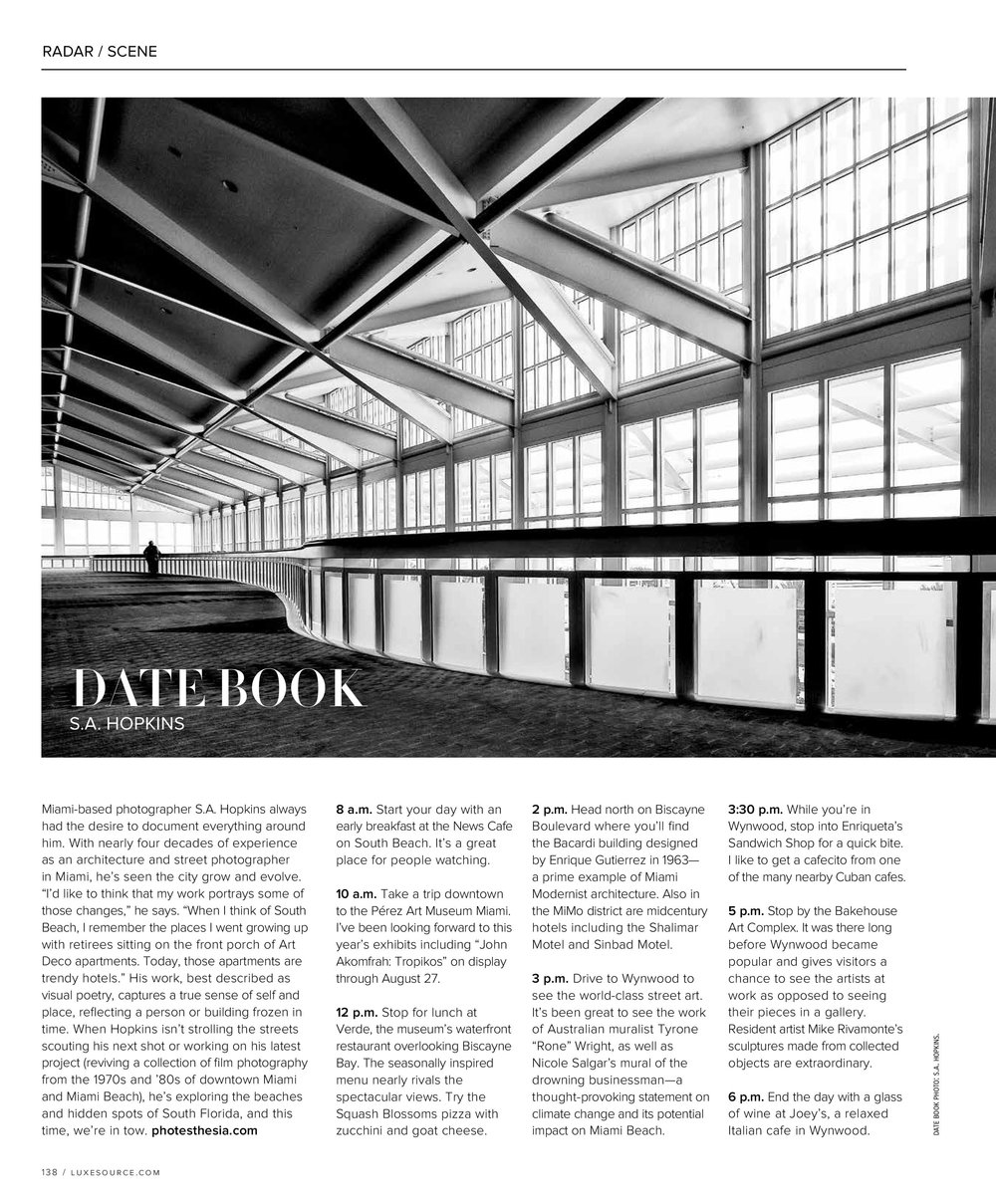 Luxe Interiors + Design Magazine - Photo - Orlando Convention CenterInterview - May / June 2017 Issue