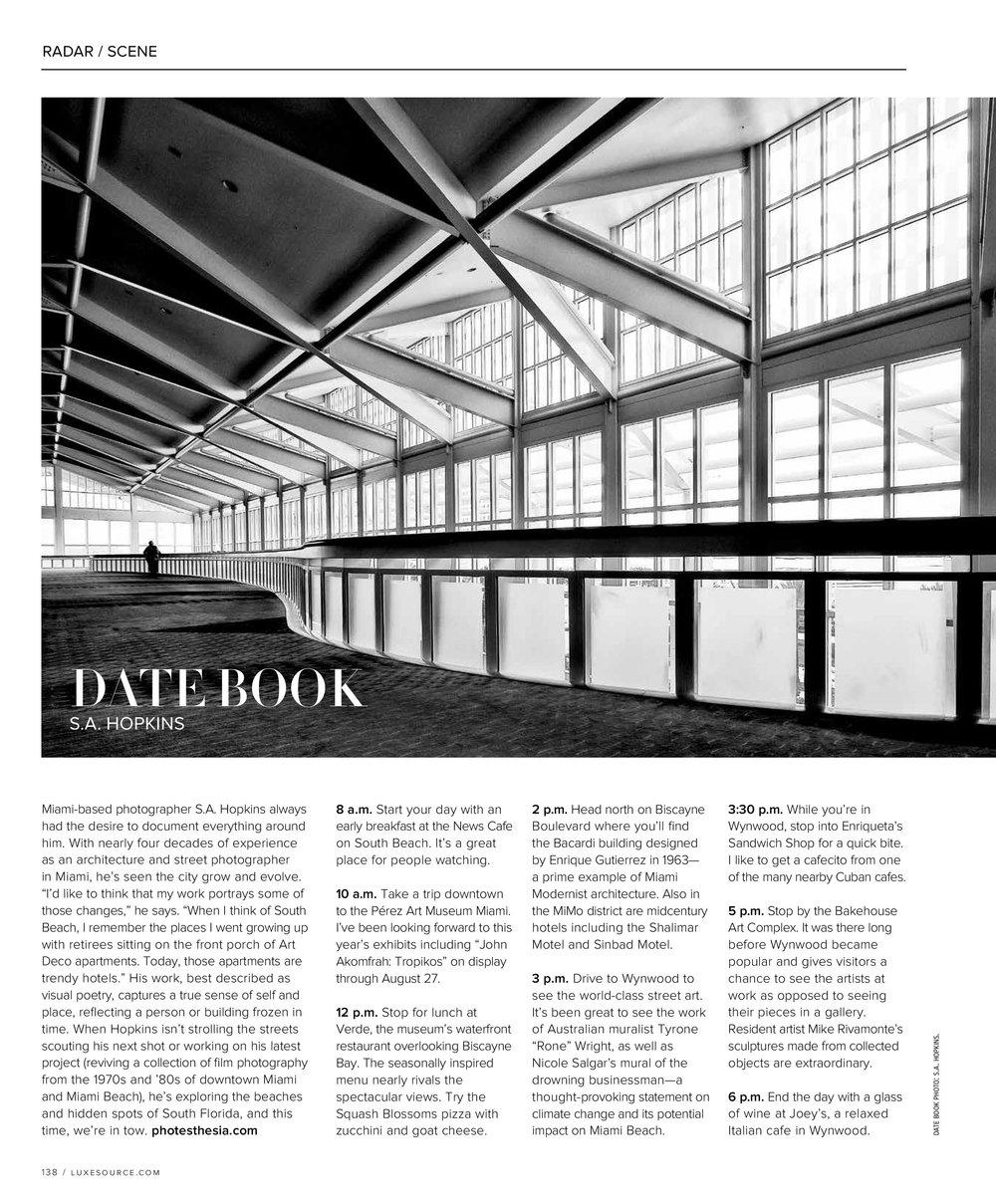Luxe Interiors + Design Magazine - Photo - Orlando Convention CenterInterview - May / June 2017 Issue