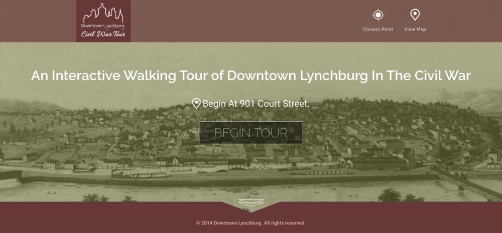 Civil War Tour in Downtown Lynchburg, VA