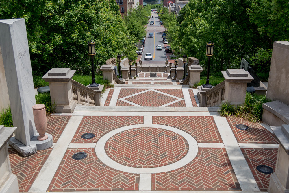 Monmument Terrace in Downtown Lynchburg, VA