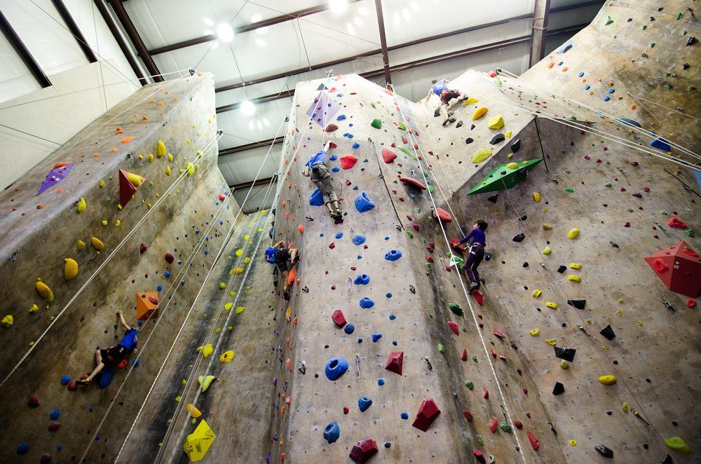 Rise Up Climbing in Downtown Lynchburg, VA