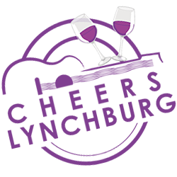 Tilted-Cheers-Lynchburg-Logo-250-Purple-on-Clear.png