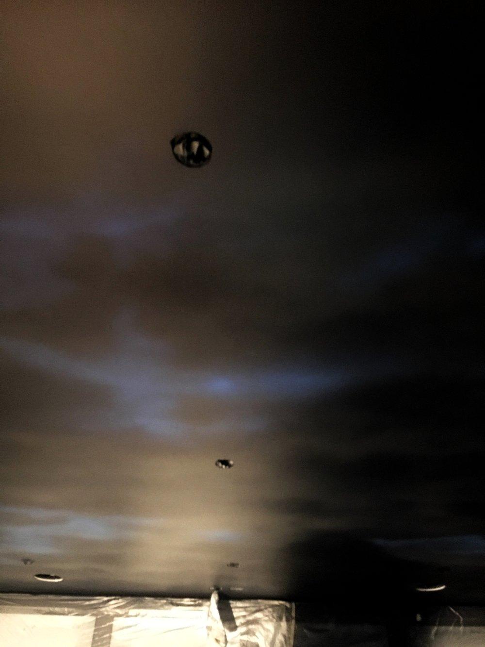Night Sky Ceiling Detail