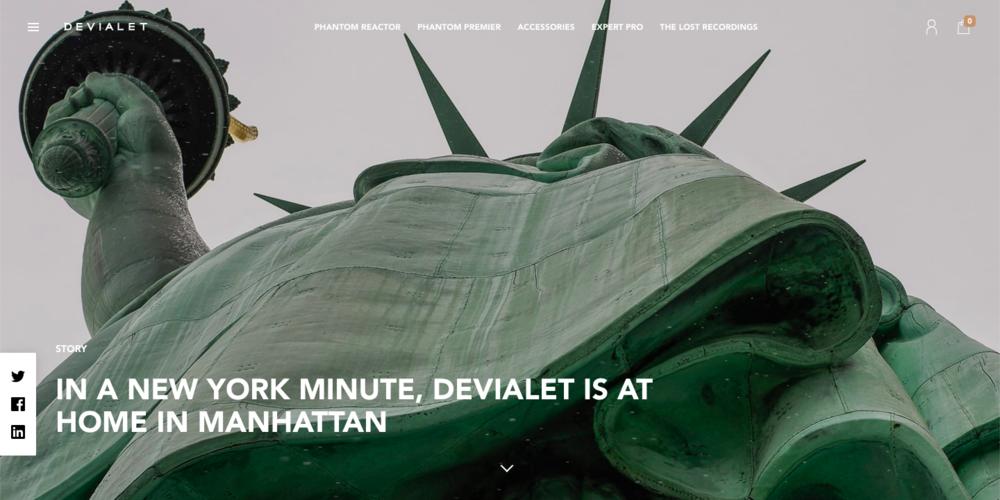 Devialet New York Launch
