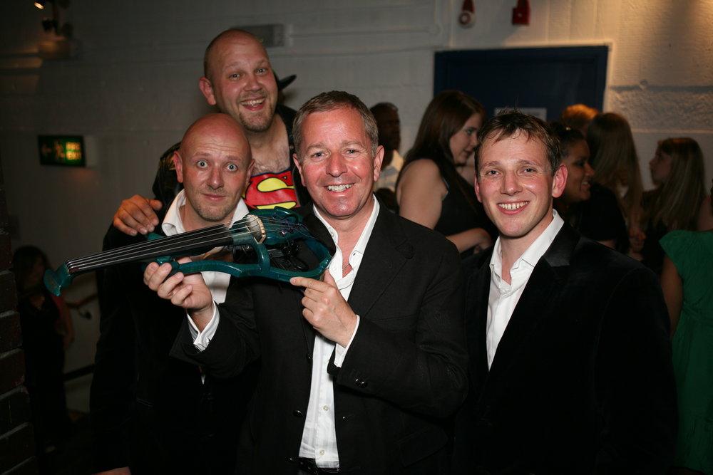 Martin Brundle and Stringfever.JPG