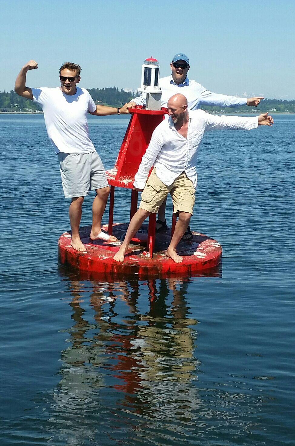 Stringfever on a buoy shelton seattle.JPG