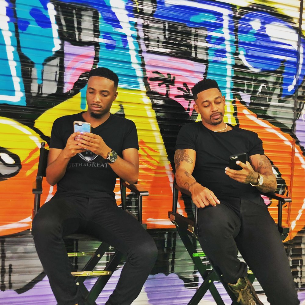 From Left to Right: JBthaGREAT & Bobby Billions. Courtesy of Quantum Prestige