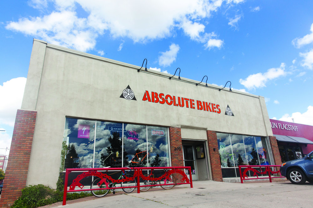 More than a store, Absolute Bikes is a critical part of Flagstaff's cycling infrastructure—encouraging riders, building trails, supporting the community and keeping bikes rolling.