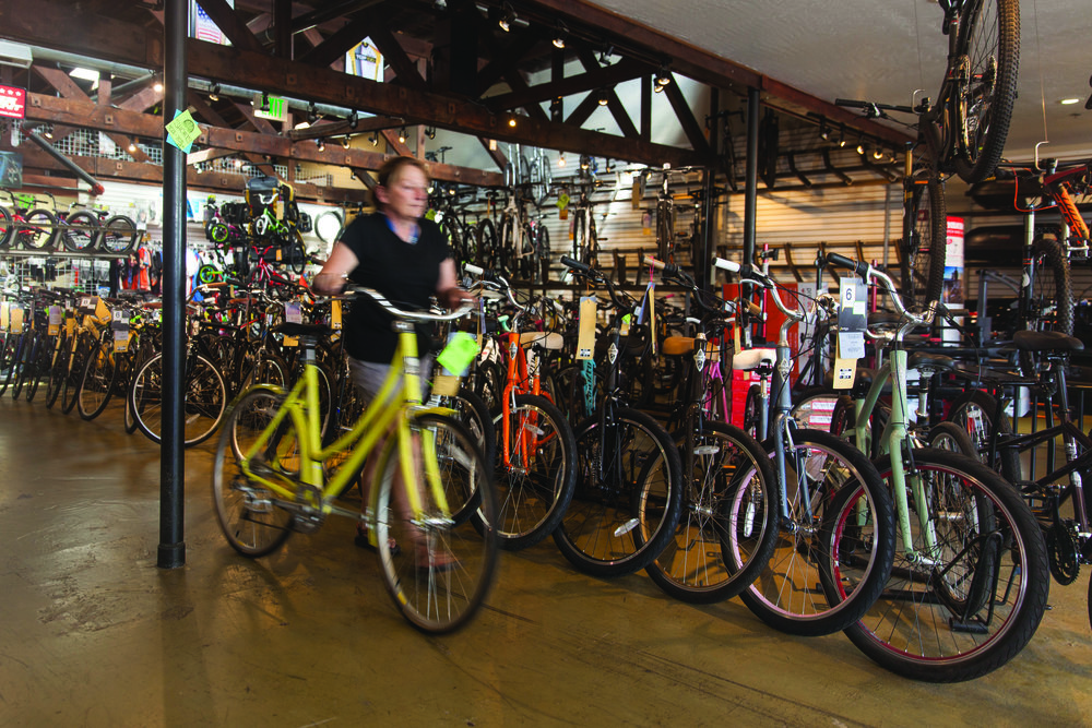 Though mountain biking is an obvious focus for a Flagstaff store, the first step is meeting customers where they are now and keeping them riding.
