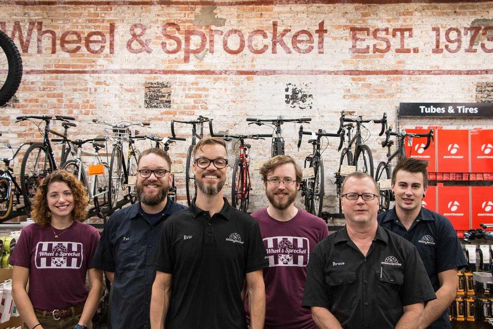 The gang at Wheel & Sprocket.  (   Signal Path Creative   )