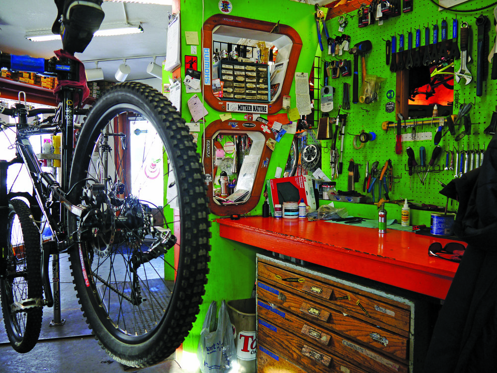 """Orange Peel started with a $5,000 inheritance invested in shop tools and a repair stand, and service is still the heart of the business. """"Every single ticket, it seems, is a $500 tune, and we'll get eight of those a day."""""""
