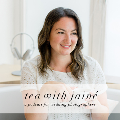 Tea with Jaine Podcast Cover Art