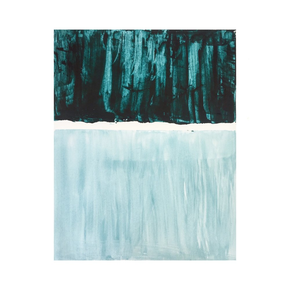 "Spirit Color  | acrylic on bristol paper | 9.5"" x 12"" | 2018"