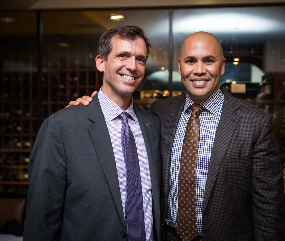 An evening celebrating the direction and momentum of LEAD NYC with Carlos Beltran. #BeGenerous #GenerosiDad
