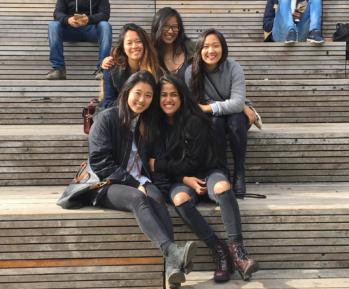 Aarushi Tibrewala, Christina Yoh, Cristina Lee, Phoebe Shum, and Ally Cheng