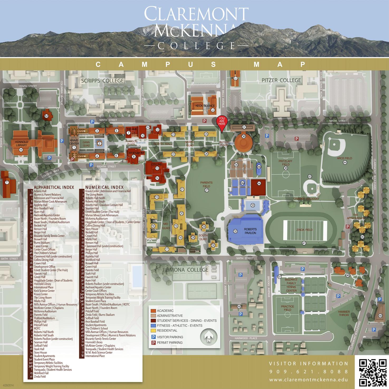 Cmc Updates Maps And Signage Around Campus The Forum