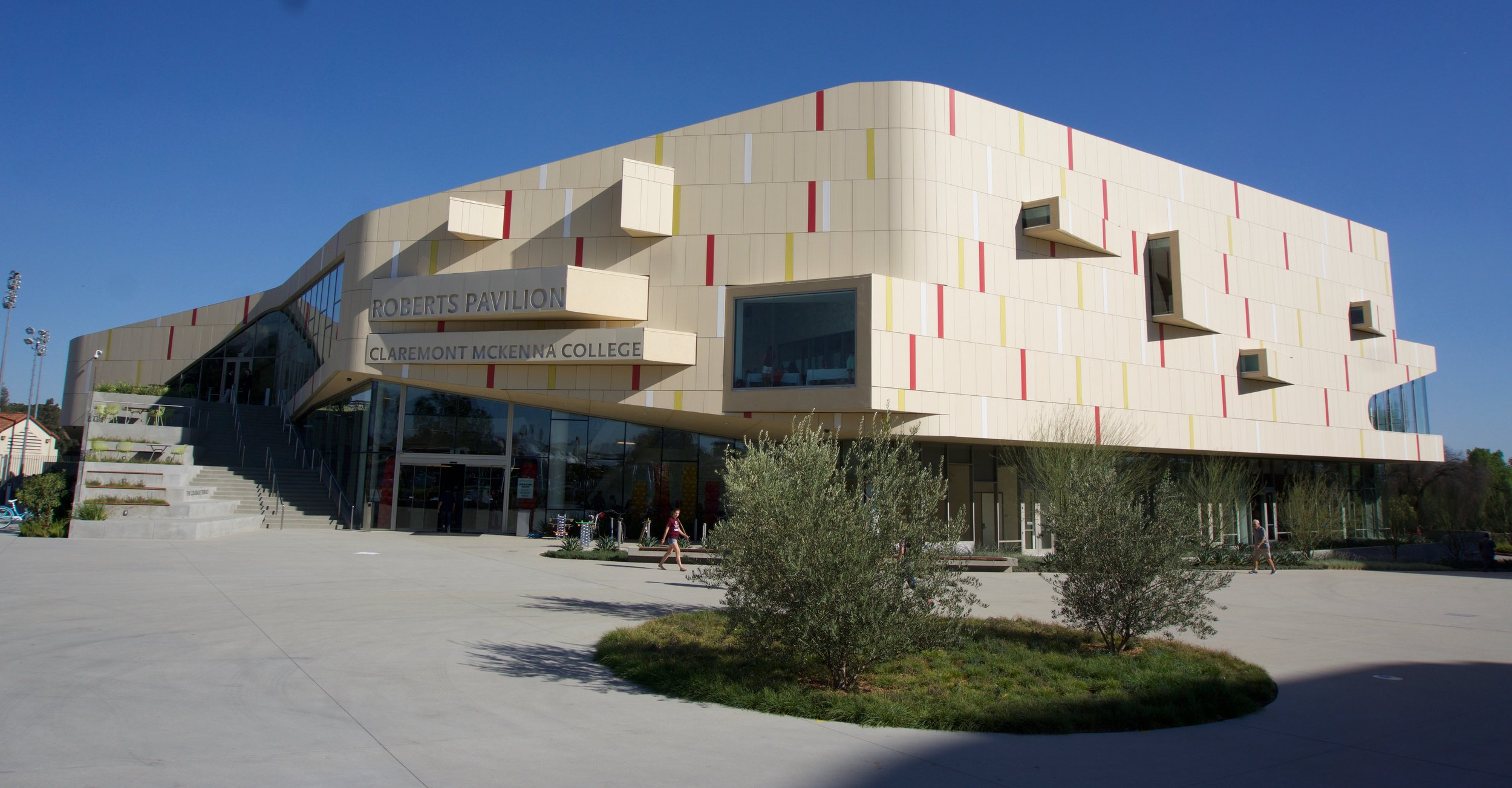 Roberts Pavilion: The History, Funding, and Focus of CMC's