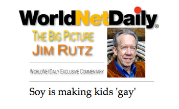 """Notice how he puts """"gay"""" in quotes?"""
