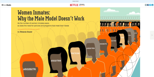 Women Inmates: Why The male Model Doesn't Work