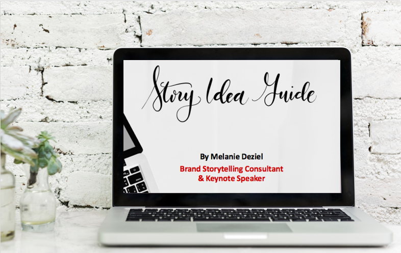Free Story Idea Guide from Melanie Deziel