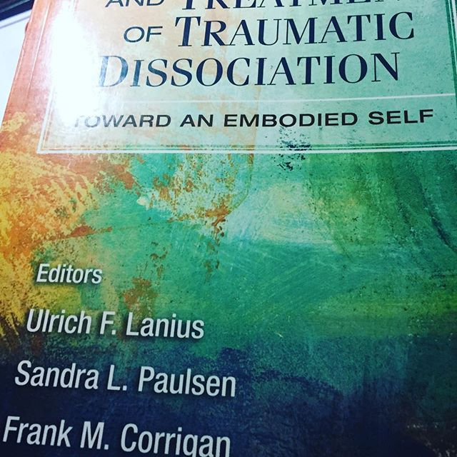 Just a little light reading😉 #traumainformed #cbttherapist #healingpower