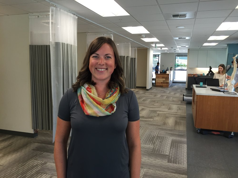 Kelly McGivernPT, DPT, TPIc - Kelly grew up in Kirkland, Washington where she attended Lake Washington High School. She then attended Western Washington University where shegraduated with a Bachelors of Science degree in Kinesiology and a focus in pre-physical therapy. She spent a year gaining expertise and knowledge asan aide for Lake Washington Physical Therapy in downtown Kirkland. After this experience she furthered her education at University of St. Augustinefor Health Sciences in San Diego, California. She received her Doctorate in Physical Therapy with a focus on spinal and extremity manual therapy. Kelly's passion is working in outpatient orthopedics. She loves the wide variety of ages and pathologies she is exposed to on a daily basis....Continue »