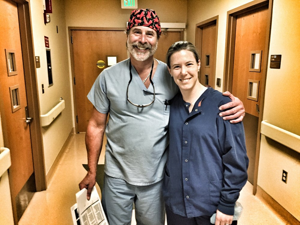 Dr. Santoro Surgery Observation - Jessica joined Dr. Santoro in the OR for a shoulder & knee surgeryFebruary 2017More on Dr. Santoro