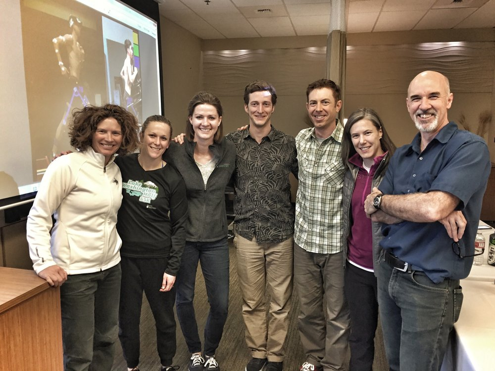 Matthew Walsh Course - Thanks to the great Matthew Walsh and over 30 Seattle clinicians that attended the LWPT hosted running courseMarch 2017