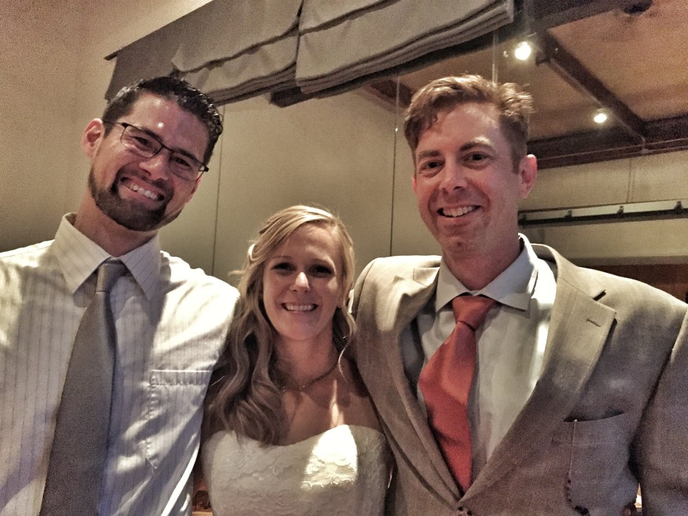 Heidi's Wedding - There was a great LWPT turnout for Heidi and Ryan's wedding. Here to many happy years!