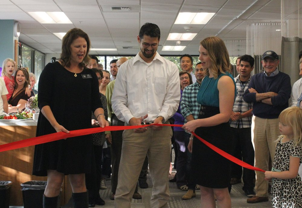 Matt Sato Ribbon Cutting