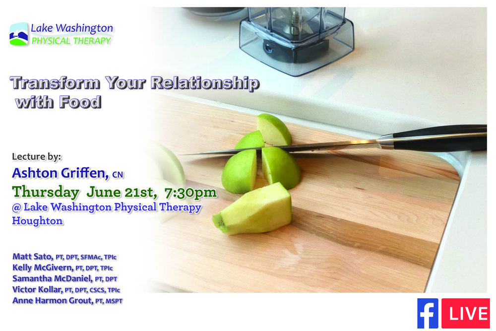 Ashton Griffen, CN - Transforming your relationship with food was a great lecture by Certified Nutritionist Ashton Griffen and took place at our Houghton location.Facebook Live Link