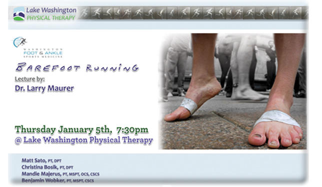 Dr. MaurerBarefoot Running - More on Dr. Maurer (click here)