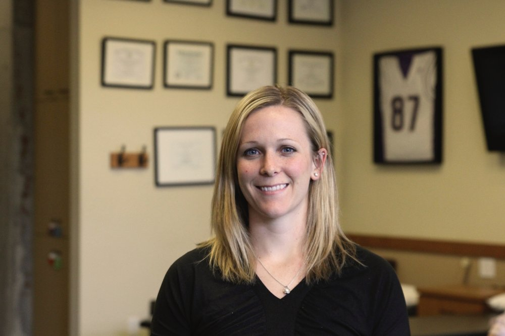 Heidi BiehlPT, DPT, OCS, CSCS, SFMAcManager - Heidi grew up in Great Falls, Montana. She attended Montana State University in Bozeman receiving a B.S in Exercise Science. She then attended University of Montana in Missoula for her doctorate in physical therapy. During her undergraduate and first year of physical therapy school, Heidi split her time between school and competing for the track and field teams at each respective school. Sports, injuries, surgeries and rehabilitation have guided her to study and love physical therapy....Continue »