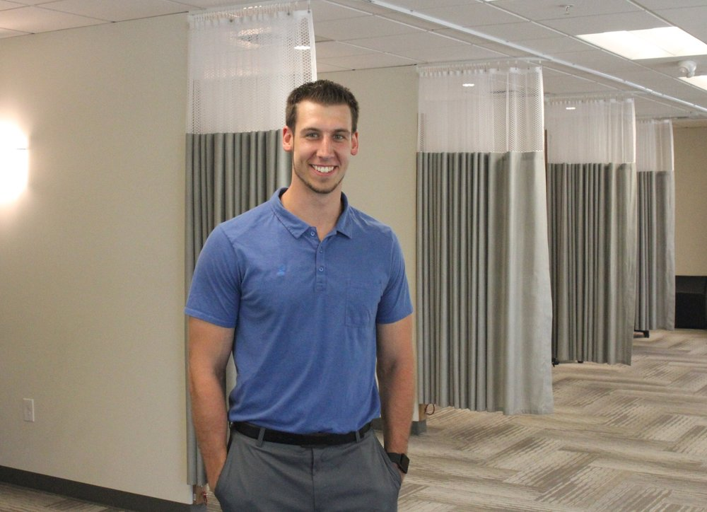 Victor KollarPT, DPT, TPIc - While Victor was born in Toronto, Ontario, he grew up on the eastside in Redmond for most of his life. He attended the International Community School in Kirkland and went on to receive his BS in Human Physiology from Gonzaga University in 2013. Victor has a long history with Lake Washington Physical Therapy. He first shadowed Ben Wobker and Matt Sato when he was in college and then returned to work for them as an aide before starting grad school. He also took this time to become.......Continue »