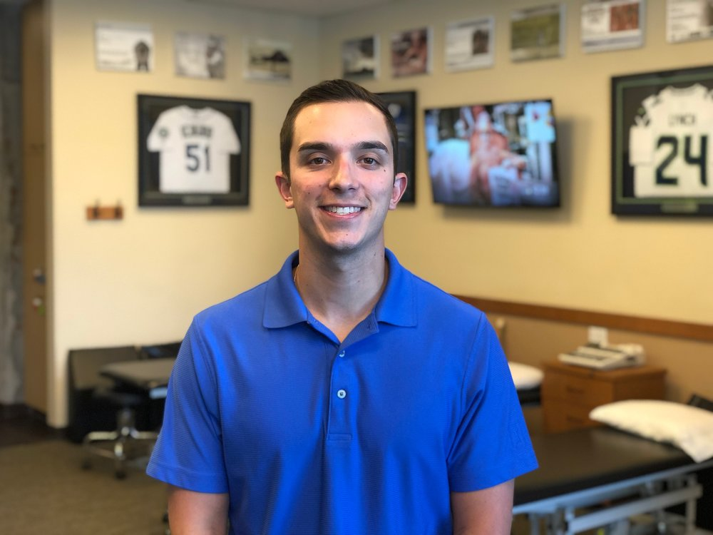 Jordan BorkPT, DPT, CSCS, CFSC - Jordan grew up in Kirkland, Washington and attended Juanita High School where he played basketball and baseball. After his days at JHS Jordan moved to the eastern side of the state to attend Washington State University. Throughout his time in Pullman, Jordan was involved in intramural sports, several local clubs and served as the community service chairman for his fraternity.Continue »