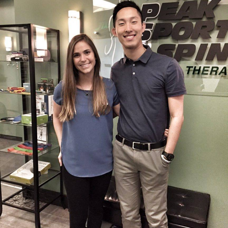 Shin Completes 1st Clinical -  Congrats to our aide and former shadow Shinwook Park for completing his first internship for #PTA school at Peak Sports & Spine Physical Therapy - Renton.