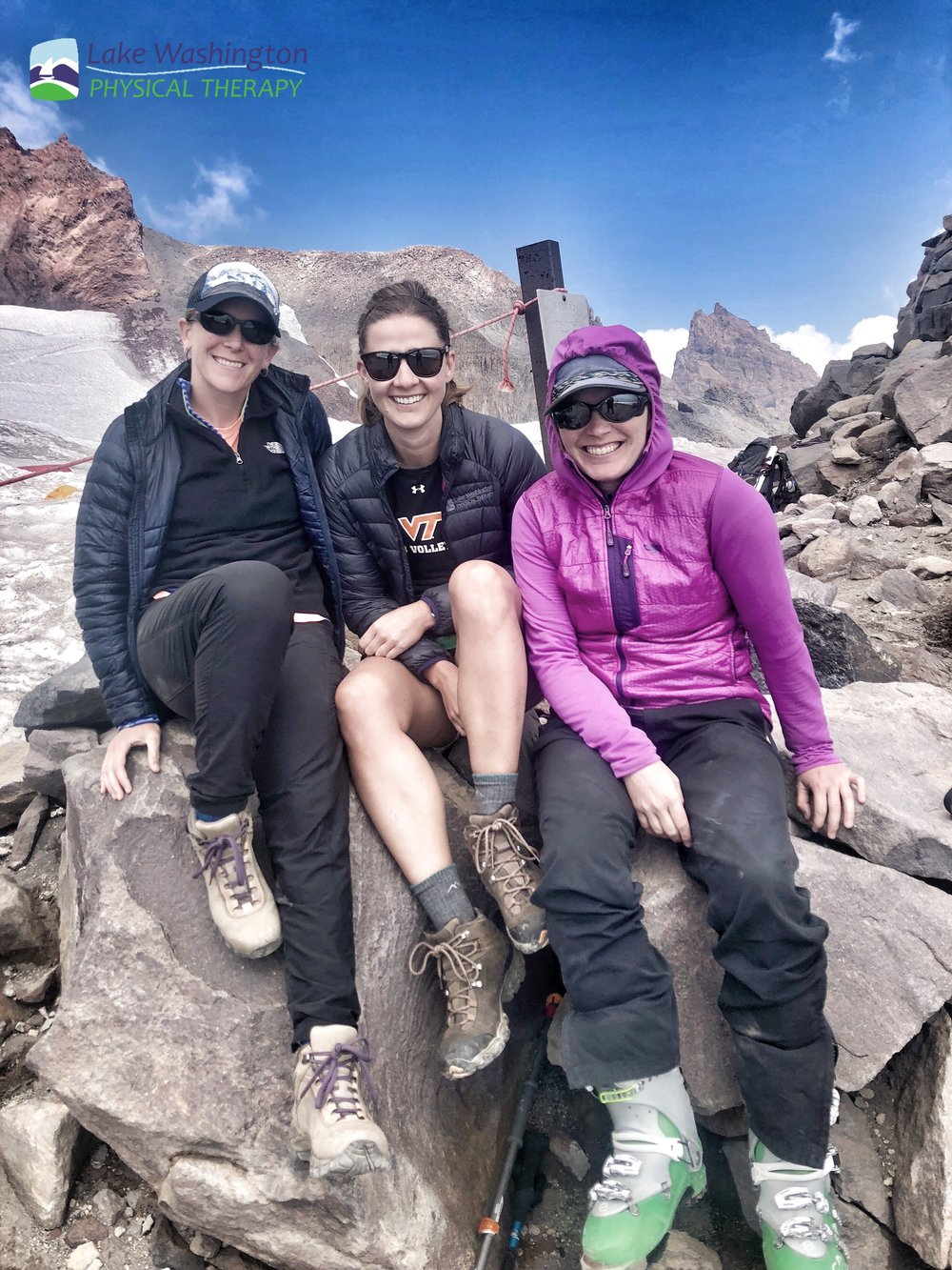 Camp Muir - Mandie led Caitlin, Heidi, and Ryan up to camp muir in August 2018 on a beautiful Seafair weekend. This was a first for some in attendance but Mandie's second home :)