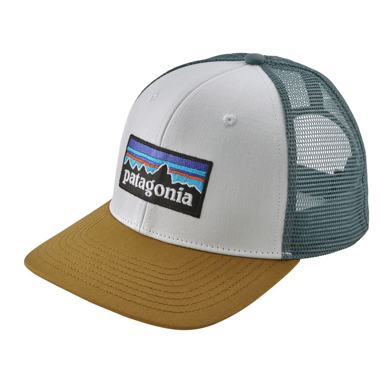 Patagonia Trucker Hat - Classic mid-crown trucker hat with an organic cotton front, polyester mesh back, adjustable snap closure and embroidered logo.