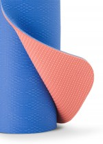Prana ECO Yoga Mat - THE E.C.O YOGA MAT IS CONSTRUCTED FROM 100% THERMOPLASTIC ELASTOMER. THE RECYCLABLE MAT IS UV RESISTANT, LIGHTWEIGHT, PVC AND CHLORIDE FREE. IT'S CLOSED CELL CONSTRUCTION PREVENTS GERMS FROM ABSORBING INTO THE MAT.