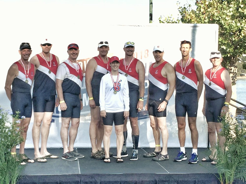 Sammam1sh Rowing! - Congrats to SRA and Jessica!!!Masters Nationals: 1st Place finish Sammamish Rowing Association 8+. Great job teammates, cox- Jessica Paré and Coach Tom Woodman.