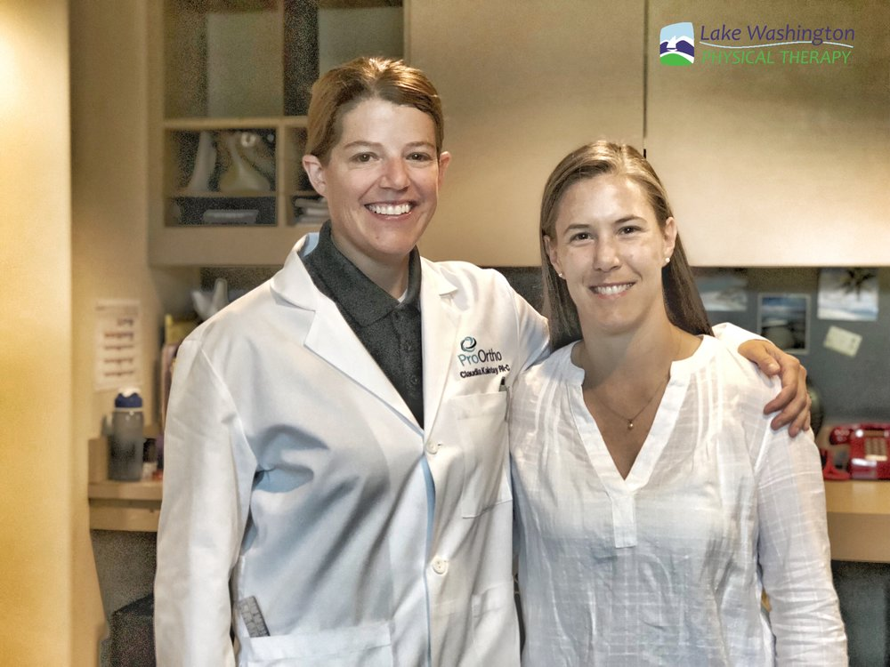 Jess & Claudia in the OR - A big thanks to ProOrtho, Dr. Koo, and Claudia for a day of surgery observation and shadowing.
