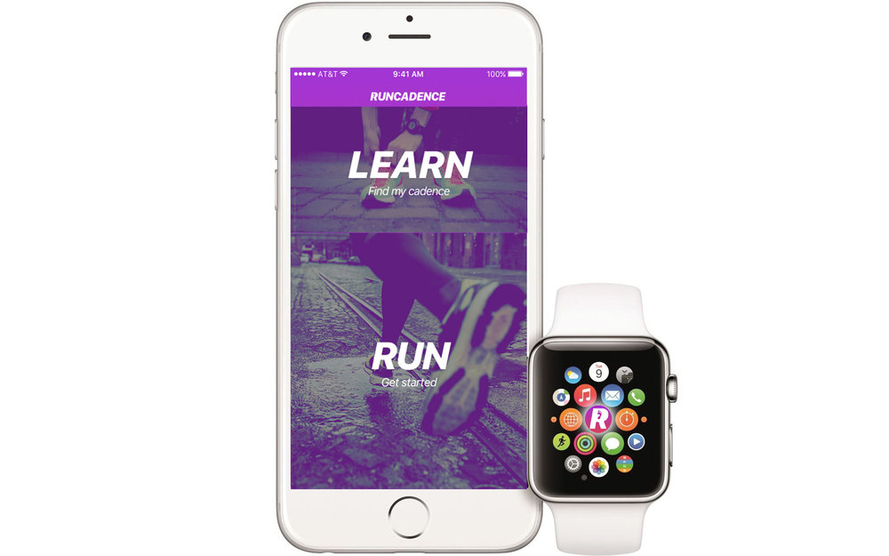 RunCadence Phone and Watch White with glow.jpg