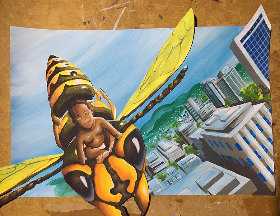 Buzzing over Kingston