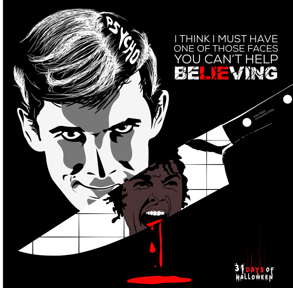 Day 5 - Norman Bates (Alfred Hitchcock's Psycho)