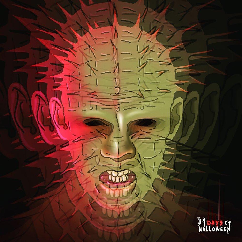 Day 11 - Pinhead>Makahead (Hellraiser)