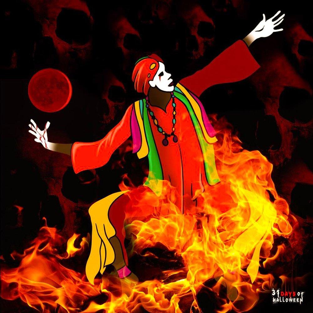 Day 12 - Obeah Man (Jamaican Black Magician)