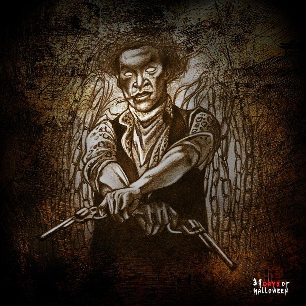 "Day 16 - Vincent ""Ivanhoe"" Martin a.k.a. Rhyging a.k.a. The Original Rude Boy a.k.a. Wildman (Jamaican Folk Icon)"